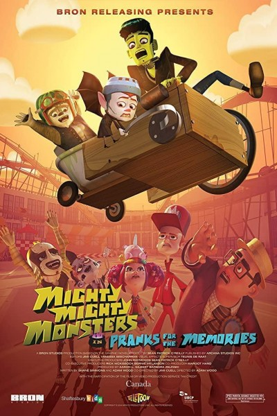 Caratula, cartel, poster o portada de Mighty Mighty Monsters in Pranks for the Memories