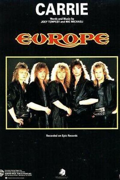 Caratula, cartel, poster o portada de Europe: Carrie (Vídeo musical)