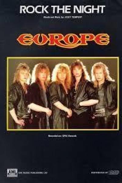 Caratula, cartel, poster o portada de Europe: Rock the Night (Vídeo musical)