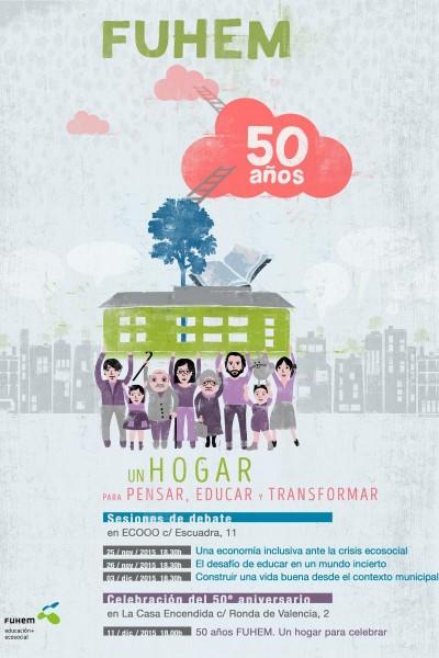 Caratula, cartel, poster o portada de Un hogar para pensar, educar y transformar
