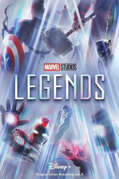 Caratula, cartel, poster o portada de Leyendas de Marvel Studios