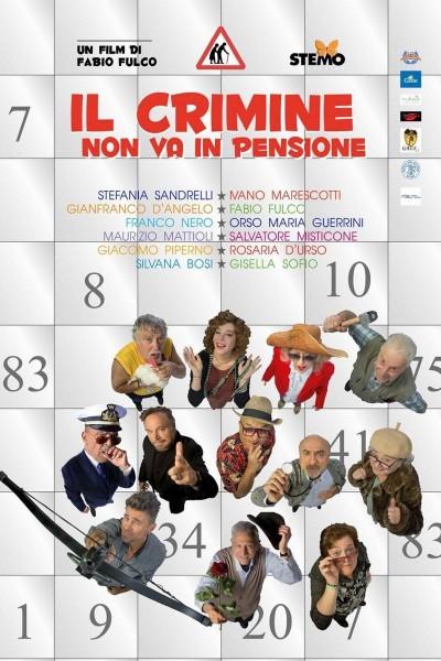 Caratula, cartel, poster o portada de Il crimine non va in pensione