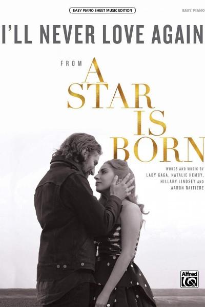 Caratula, cartel, poster o portada de Lady Gaga: I\'ll Never Love Again (Vídeo musical)
