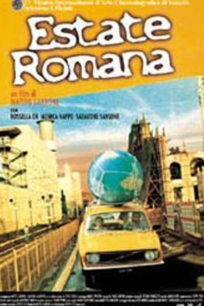Caratula, cartel, poster o portada de Verano romano