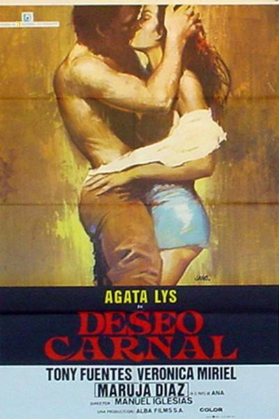Caratula, cartel, poster o portada de Deseo carnal