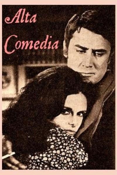 Caratula, cartel, poster o portada de Alta comedia