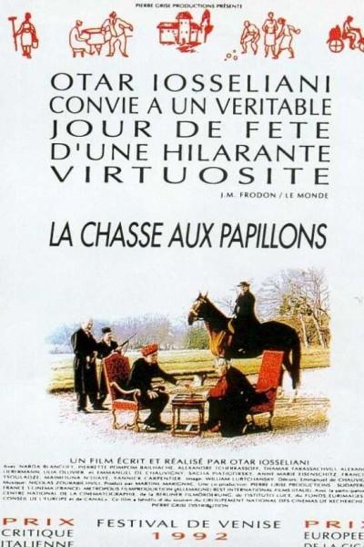 Caratula, cartel, poster o portada de La chasse aux papillons