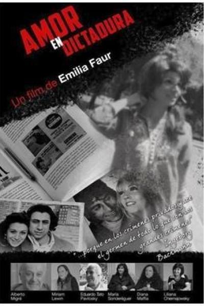 Caratula, cartel, poster o portada de Amor en dictadura