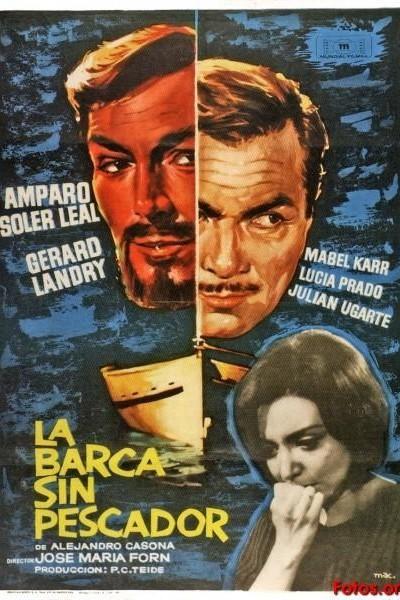 Caratula, cartel, poster o portada de La barca sin pescador