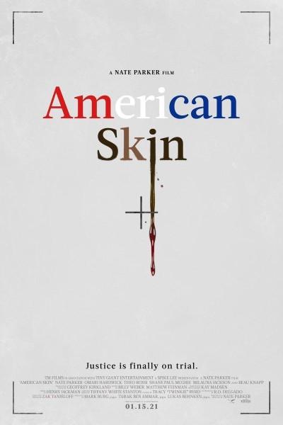 Caratula, cartel, poster o portada de American Skin
