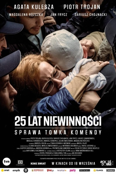 Caratula, cartel, poster o portada de 25 lat niewinnosci. Sprawa Tomka Komendy