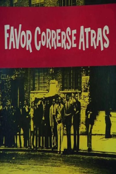 Caratula, cartel, poster o portada de Favor correrse atrás