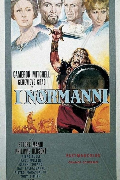 Caratula, cartel, poster o portada de Los normandos
