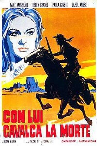 Caratula, cartel, poster o portada de Con lui cavalca la morte