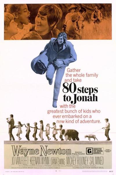 Caratula, cartel, poster o portada de 80 Steps to Jonah