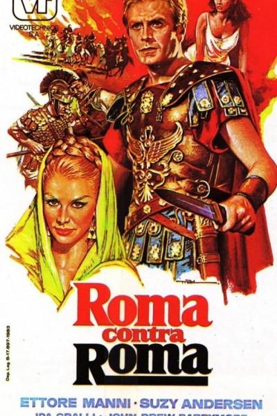 Caratula, cartel, poster o portada de Roma contra Roma