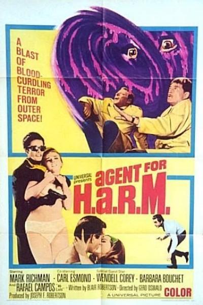 Caratula, cartel, poster o portada de Agent for H.A.R.M.
