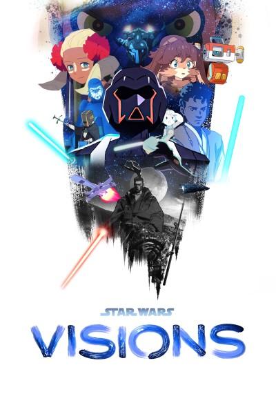 Caratula, cartel, poster o portada de Star Wars: Visions