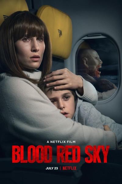 Caratula, cartel, poster o portada de Cielo rojo sangre