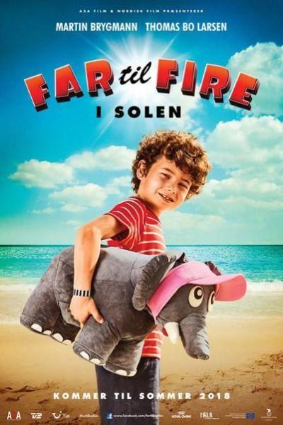 Caratula, cartel, poster o portada de Father of Four In The Sun
