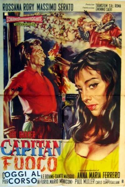 Caratula, cartel, poster o portada de El capitán fuego