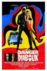 Caratula, cartel, poster o portada de Danger: Diabolik