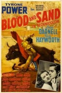 Caratula, cartel, poster o portada de Sangre y arena