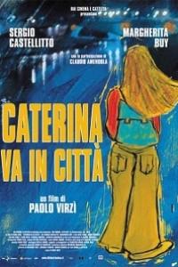 Caratula, cartel, poster o portada de Caterina se va a Roma