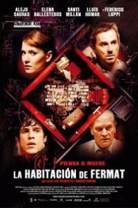 Caratula, cartel, poster o portada de La habitación de Fermat