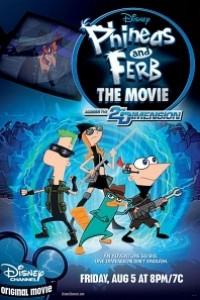 Caratula, cartel, poster o portada de Phineas y Ferb: A través de la segunda dimensión