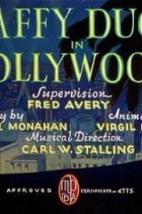 Caratula, cartel, poster o portada de El pato Lucas en Hollywood
