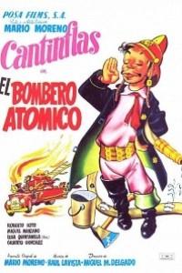 Caratula, cartel, poster o portada de El bombero atómico