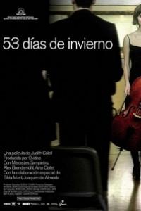 Caratula, cartel, poster o portada de 53 días de invierno