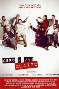 Caratula, cartel, poster o portada de Cero y van cuatro