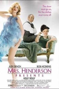 Caratula, cartel, poster o portada de Mrs. Henderson presenta