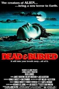 Caratula, cartel, poster o portada de Muertos y enterrados