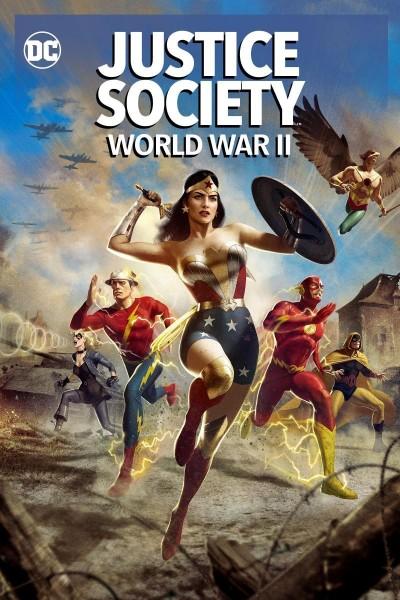 Caratula, cartel, poster o portada de Justice Society: World War II