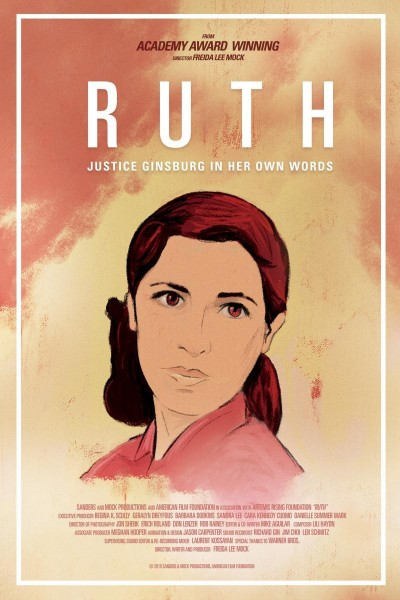 Caratula, cartel, poster o portada de Ruth: Justice Ginsburg in Her Own Words