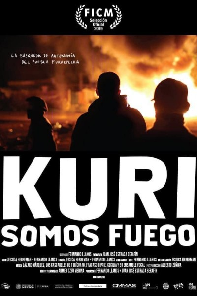 Caratula, cartel, poster o portada de Kuri (somos fuego)