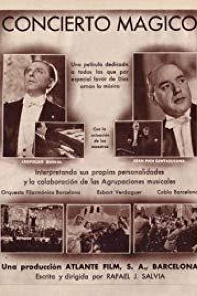 Caratula, cartel, poster o portada de Concierto mágico