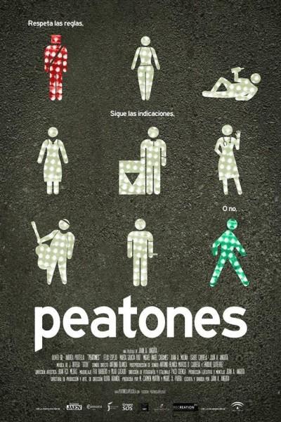 Caratula, cartel, poster o portada de Peatones