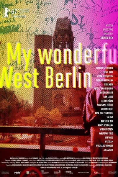 Caratula, cartel, poster o portada de Mein wunderbares West-Berlin