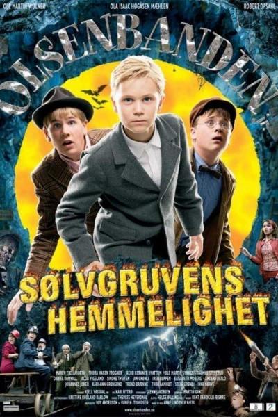Caratula, cartel, poster o portada de Junior Olsen Gang y el secreto de la mina de plata