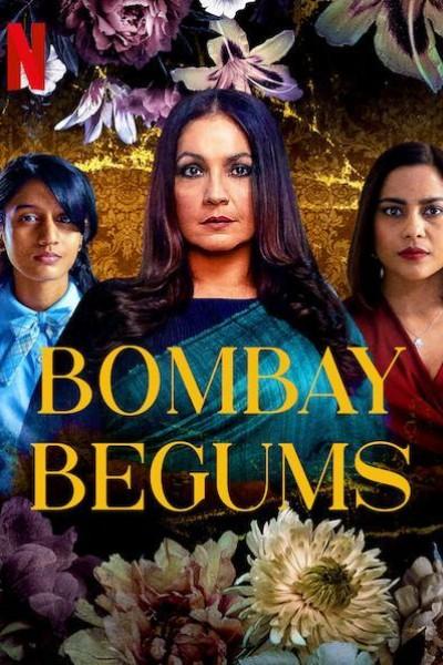 Caratula, cartel, poster o portada de Las begums de Bombay
