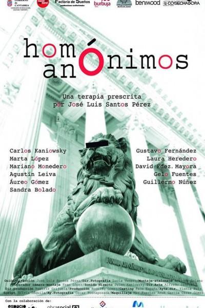 Caratula, cartel, poster o portada de Homónimos anónimos