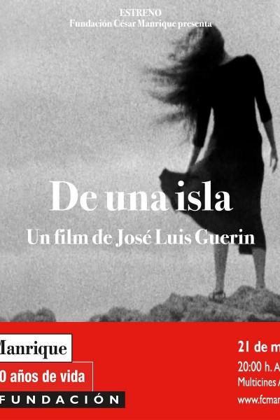 Caratula, cartel, poster o portada de De una isla
