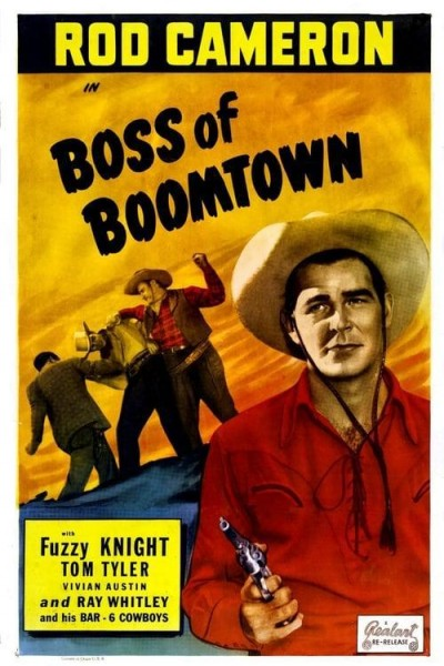 Caratula, cartel, poster o portada de Boss of Boomtown