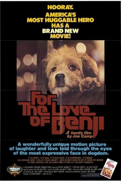 Caratula, cartel, poster o portada de Por el amor de Benji