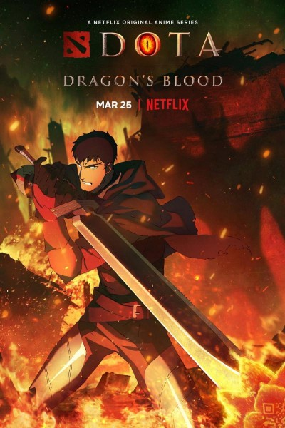 Caratula, cartel, poster o portada de Dota: Sangre de dragón