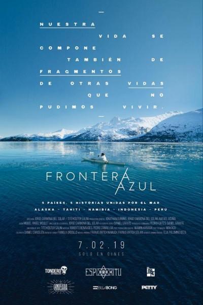 Caratula, cartel, poster o portada de Frontera azul